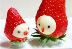 초간단 발렌타인데이 초콜릿 만들기 - 딸기미니미 : 남자친구에게 만들어주고 싶은 음식