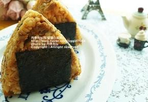 매운참치김치삼각김밥