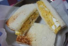 샌드위치 만들기, 부드러운 계란 샌드위치