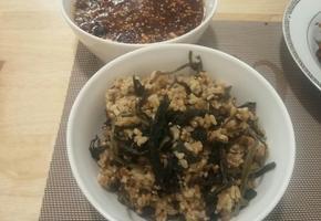 구수한맛과향이 일품인 곤드레밥