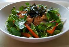 자취생을위한 연어통조림 비빔밥