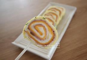 막대사탕 토스트 - 돌돌 말아 더욱 귀여운 롤 프렌치토스트