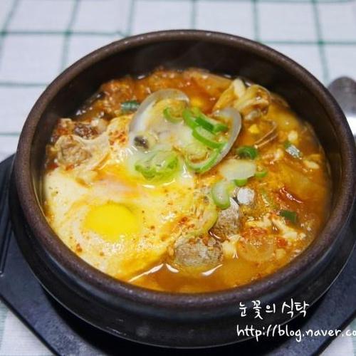 순두부찌개 끓이는법(김치순두부찌개)