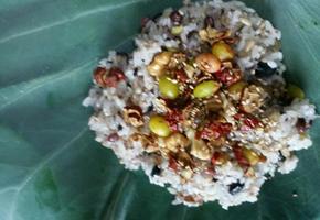 연잎밥 (쉽고 간단하게 만들어 즐기기)