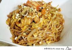 태국식 볶음 쌀국수, 팟타이 만들기
