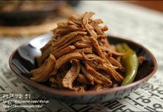 돼지고기 안심으로 만든 돼지고기 장조림