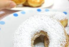 핫케이크가루로 만드는 간단도너츠