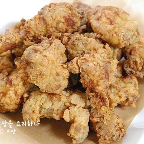 백종원 닭튀김 고급진 레시피