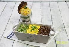 눈으로 먼저 먹는 삼색 소보로밥 & 컵밥