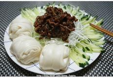 춘장으로 해먹을 수 있는 또다른 요리, 경장육사 :: 경장육사 (징짱러우쓰, 京?肉?) 만들기 :: 춘장요리
