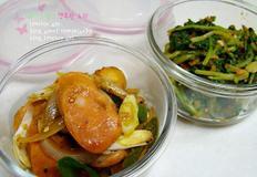 10월 9일 마이드림네 식단~ 겨울초무침, 소세지볶음, 순두부, 조기구이