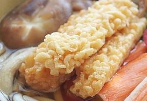 일본식 새우튀김우동