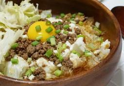 [한그릇요리] 맛있게 만든 연두부덮밥으로 부드럽고 건강하게 단백질섭취하세요~ :: 돼지고기, 연두부, 가쓰오부시