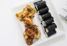 충무김밥 맛있게 만들기 아삭아삭 무 양념무침이 포인트!