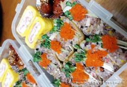 유부초밥 도시락 예쁘게 싸는 팁!!!