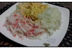 초스피드 간단한 샐러드 만들기~ 식탁에 행복 양념 추가 (양파 굵기 일정하게 써는 방법, 양배추 가늘게 써는 방법