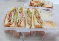 간편 샌드위치 만드는 법 / 햄샌드위치,계란감자샌드위치 :-)