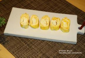 고소하고 맛있는 치즈달걀말이