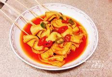 길거리음식 매운오뎅 만들기 오뎅꼬치 빨간어묵꼬치 만드는 방법