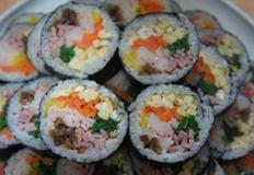 속이 꽉찬 김밥