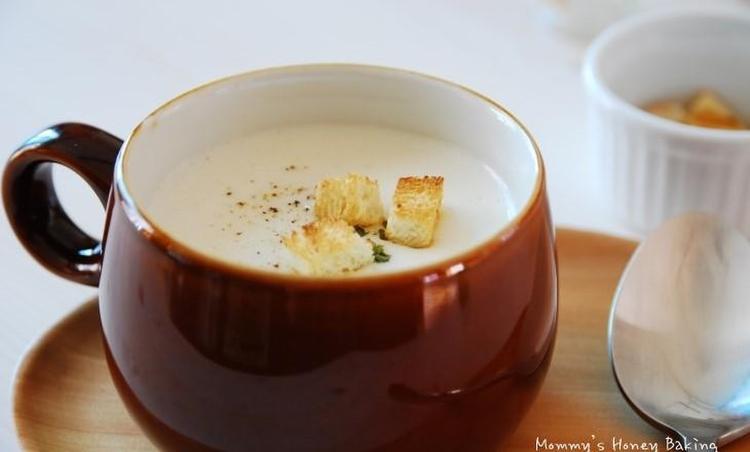 고소한 감자 수프