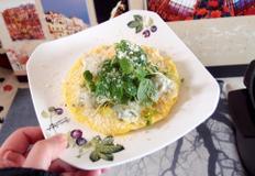 #전자렌즈로 간편하게 만드는 만두달걀피자 만들기 #1분20초면 간단한 간식이자 야식이 되는 만두달걀피자~~~