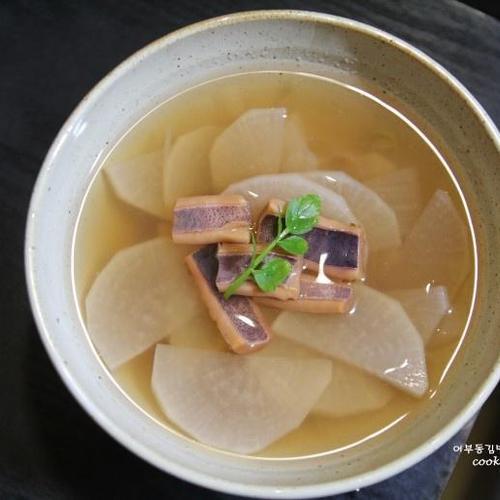 마른오징어 요리, 마른오징어무국,