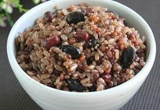 현미찹쌀로 만든 오곡밥