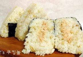 참치 삼각김밥 삼총사