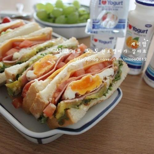 브런치메뉴 - 샌드위치