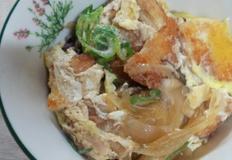 치킨까스 덮밥