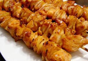쫄깃 치킨떡 꼬치