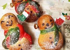 크리스마스베이킹~눈사람빵