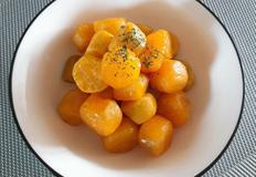 꿀 고구마 맛탕 간식만들기