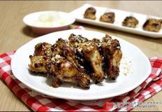 우리아이간식 콩가루 간장닭봉구이