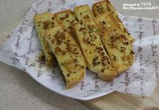 마늘빵 만들기