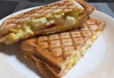 샌드위치메이커로 초간단 에그토스트만들기