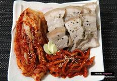 김장김치와 잘 어울리는 수육 만들기