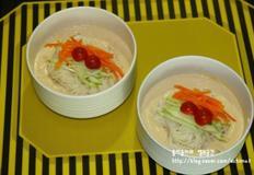 고소하고 맛있는 두부콩국수, 맛이 굿~!!