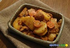 감자어묵조림/어묵감자조림:백선생순두부양념장은 순두부찌개만 끓이는 게 아니었으니,,,