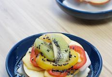 생식두부에 맛있는 과일, 야채들이 한가득! 두부과일샐러드!