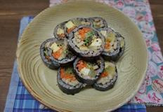 속이 꽉 찬 김밥