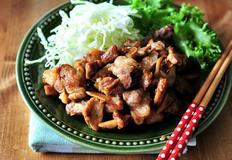 돼지고기 요리 '쇼가야키'