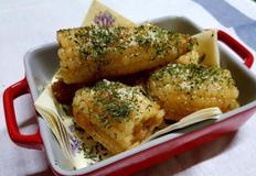 후라이팬으로 맛있는 버터구이 옥수수입니다