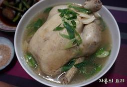 전기밥솥 삼계탕 그리고 닭죽