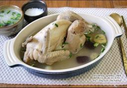 수삼백숙과 닭부추죽