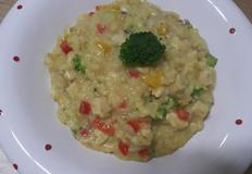 코코넛밀크를 이용한 닭가슴살 크림리조또만들기