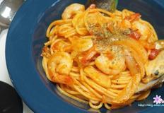 시판소스로 쉽고 빠르게 해산물 토마토 파스타 만들기!!