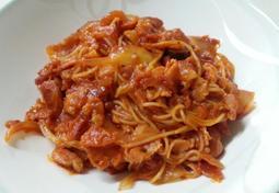 업그레이드된 토마토 스파게티 만들기