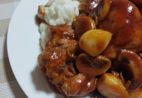 백종원 토마토케첩소스 닭다리스테이크만들기